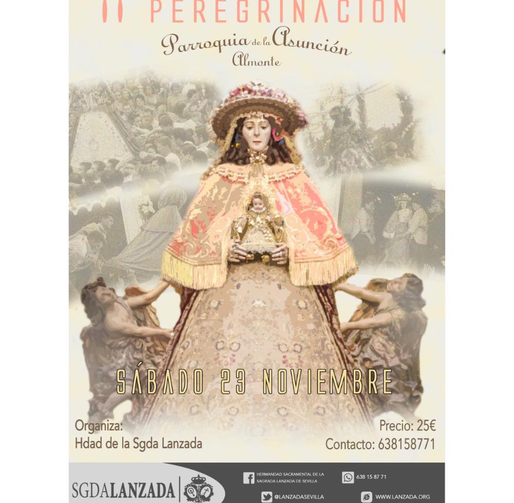 II Peregrinación ante Nuestra Señora del Rocío