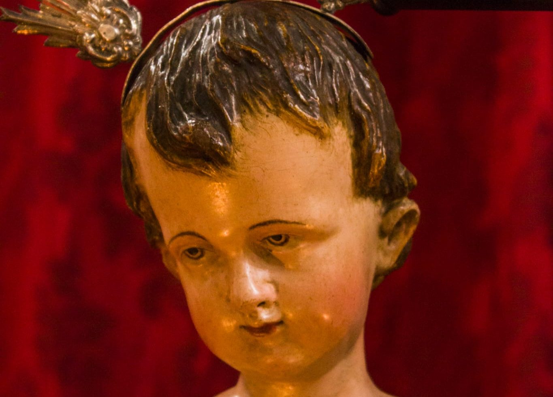 Restaurada una talla del Niño Jesús del siglo XVIII
