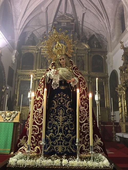 Suspendido: Solemne traslado a su altar de cultos de María Santísima del Buen Fin