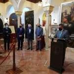 Inaugurada la exposición de los lienzos restaurados del retablo mayor de San Martín