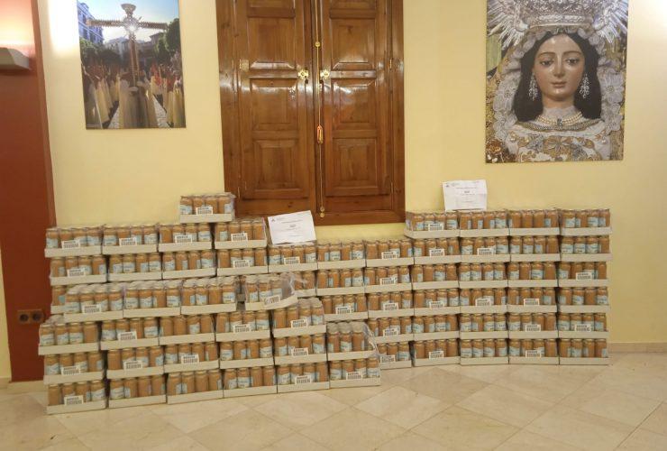 La Diputación de Caridad reparte 2.600 Kg de lentejas